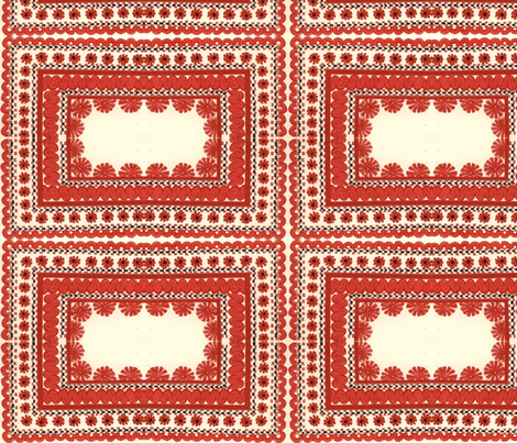 hungarian folk fabric by kimbergay on Spoonflower - custom fabric