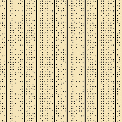Punched Tape fabric by annosch on Spoonflower - custom fabric