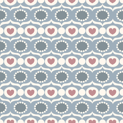 sugar_stone fabric by lilliblomma on Spoonflower - custom fabric