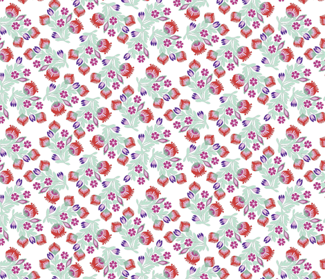 Hey my Day Poppies fabric by lazycutie on Spoonflower - custom fabric