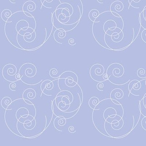 light blue swirls