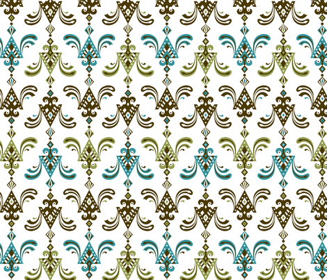 deco ornamental fabric by andibird on Spoonflower - custom fabric