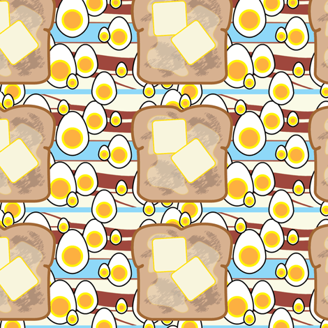 breakfast fabric by little_leah on Spoonflower - custom fabric