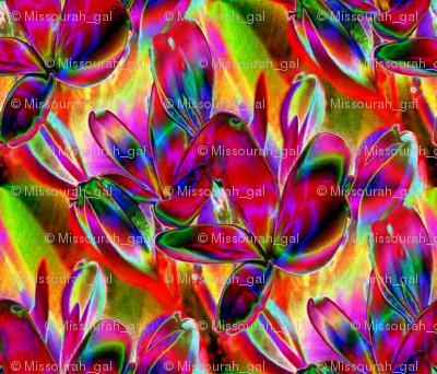 Jeweled Plumeria 10.5 x 9