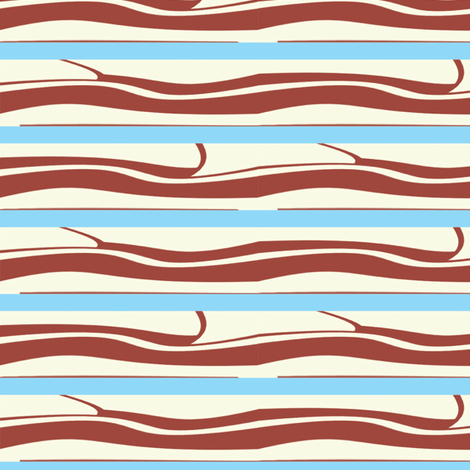 bacon fabric by little_leah on Spoonflower - custom fabric