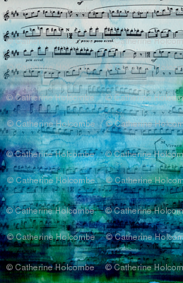 Watercolor music