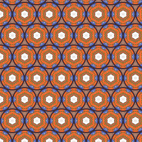 Bija's Stained Glass fabric by siya on Spoonflower - custom fabric