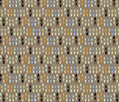Vacuum Tube Glitter-1/3 fabric by glimmericks on Spoonflower - custom fabric