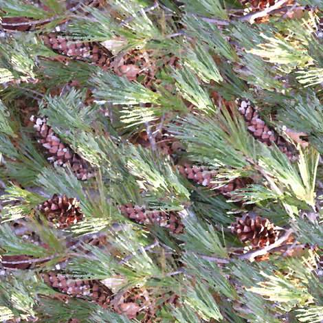 Painted Pine_4offset fabric by khowardquilts on Spoonflower - custom fabric