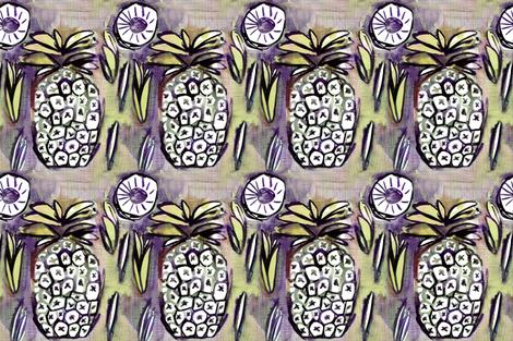 pina_lime by C'EST LA VIV fabric by cest_la_viv on Spoonflower - custom fabric