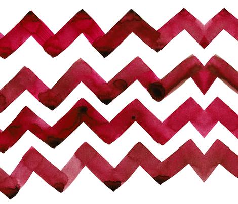 cestlaviv_red red wine waltz  fabric by cest_la_viv on Spoonflower - custom fabric