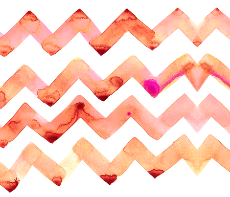cestlaviv_sunset slow dance fabric by cest_la_viv on Spoonflower - custom fabric