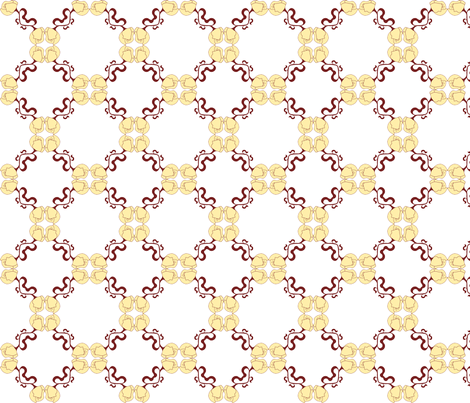 Flowers to you... fabric by bluesound on Spoonflower - custom fabric