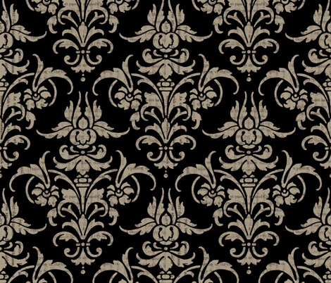 Emily fabric by peacoquettedesigns on Spoonflower - custom fabric
