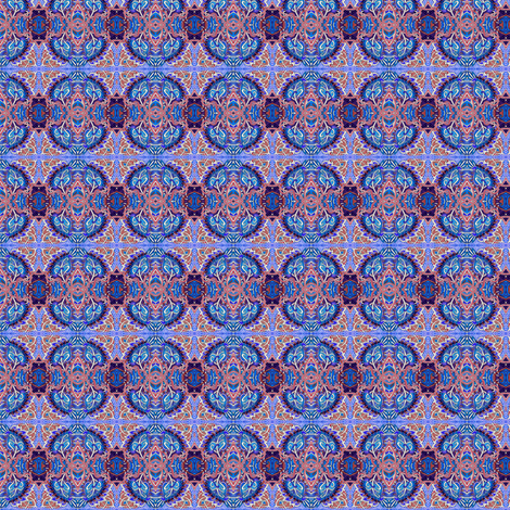 Teeny Tiny Laurel Blocks fabric by edsel2084 on Spoonflower - custom fabric
