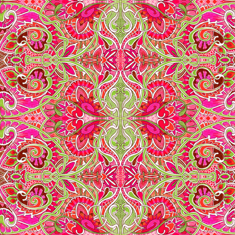 Strawberry Kisses fabric by edsel2084 on Spoonflower - custom fabric