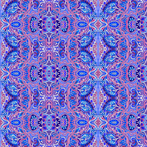 Pseudo Celtic Twist and Curl fabric by edsel2084 on Spoonflower - custom fabric