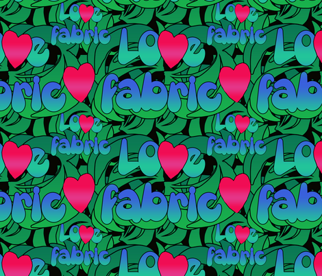 lovefabric fabric by kociara on Spoonflower - custom fabric