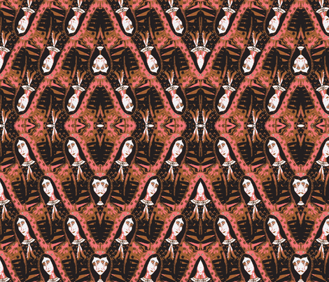 Our_Lady_of_the_Desertfabric-ch-ch fabric by saintmaker on Spoonflower - custom fabric