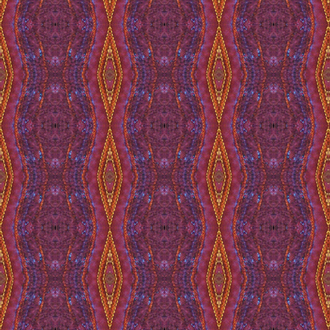purple orange diamond stripe fabric by elizabemmenswilson on Spoonflower - custom fabric