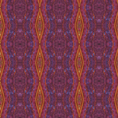 purple orange diamond stripe