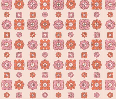 Pink Deco fabric by lmlloyd-designs on Spoonflower - custom fabric