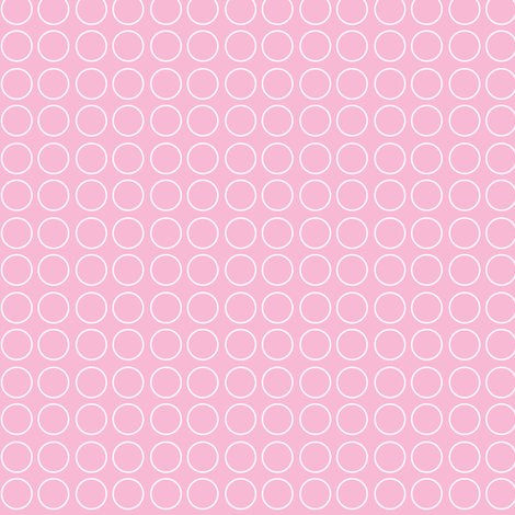 sweet girl - dots fabric by misstiina on Spoonflower - custom fabric