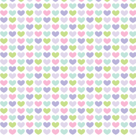 sweet girl - lovie fabric by misstiina on Spoonflower - custom fabric