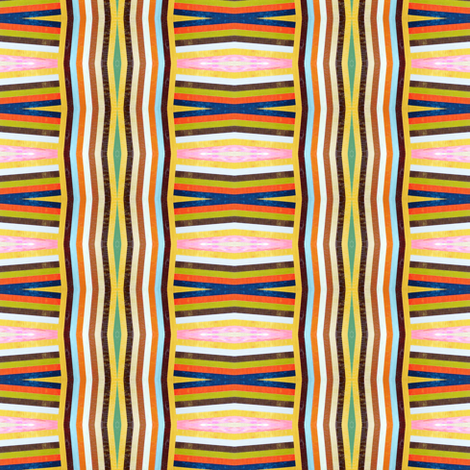 Colorful Stripes fabric by glennis on Spoonflower - custom fabric