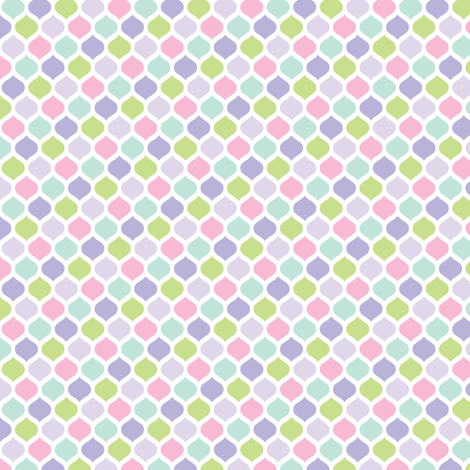 sweet girl - sweetpea fabric by misstiina on Spoonflower - custom fabric