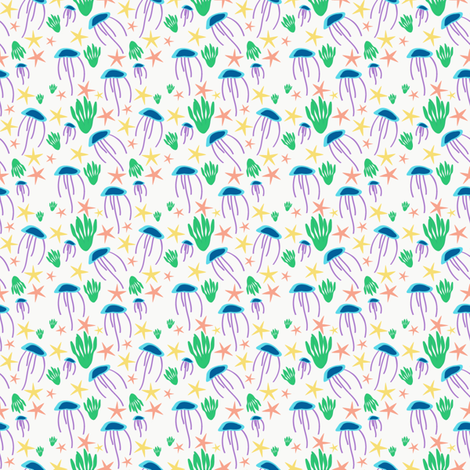 sealife-01 fabric by tammiebennett on Spoonflower - custom fabric