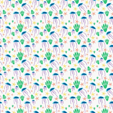 sealife-01 fabric by tammiebennett on Spoonflower - custom fabric