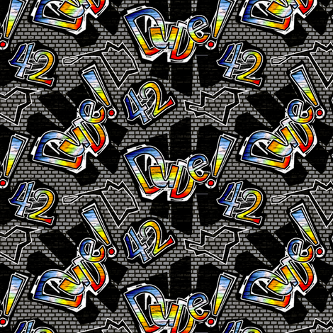 dude42-50percent gray fabric by glimmericks on Spoonflower - custom fabric