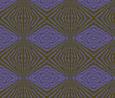 Purple Deco Swirl fabric by poetryqn on Spoonflower - custom fabric