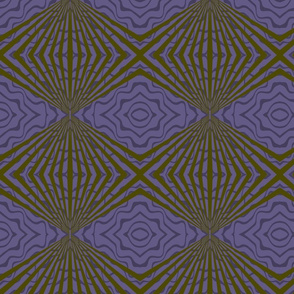 Purple Deco Swirl