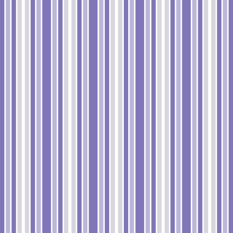 Purple Seahorse Stripe fabric by shelleymade on Spoonflower - custom fabric