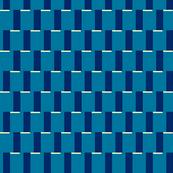 Retro Blue Steps