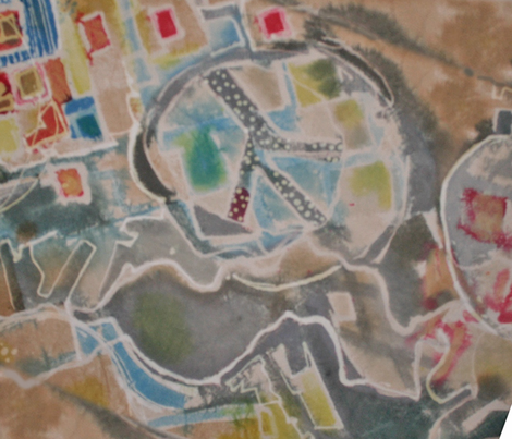 peaceful_terrian fabric by funky-fabrics on Spoonflower - custom fabric