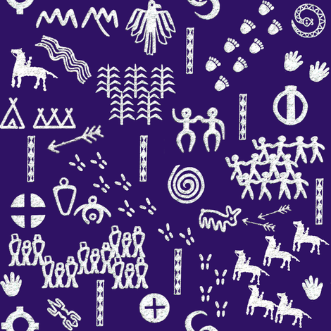 The People's Story fabric by demouse on Spoonflower - custom fabric