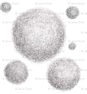 Mothballs on White Background