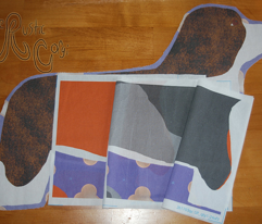 ©2012 Cut & Sew large Cardigan Welsh Corgi - Merle