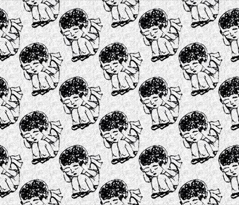 graffiti spots fabric by needlebook on Spoonflower - custom fabric