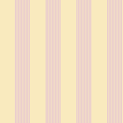 pink and cream stripes fabric by weavingmajor on Spoonflower - custom fabric