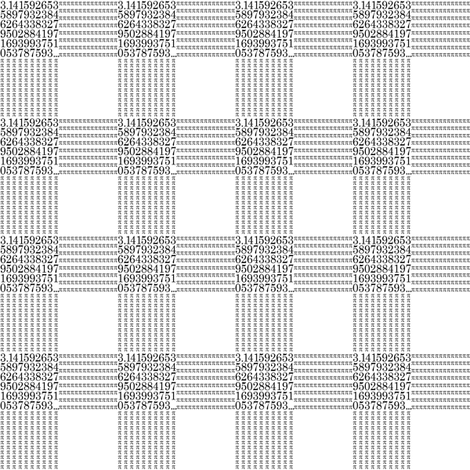 "pi are square (B&W 1"" check) fabric by weavingmajor on Spoonflower - custom fabric"