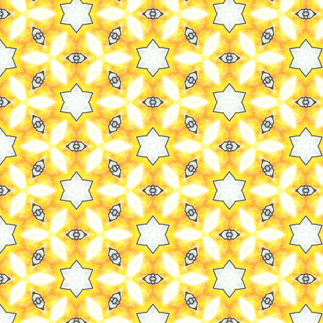 Waiteri's Stars fabric by siya on Spoonflower - custom fabric