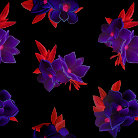 Primary Floral fabric by gimlet on Spoonflower - custom fabric