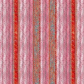 Sweetheart Herringbone Stripe