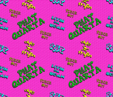 Phat Quarta fabric by dollyw on Spoonflower - custom fabric