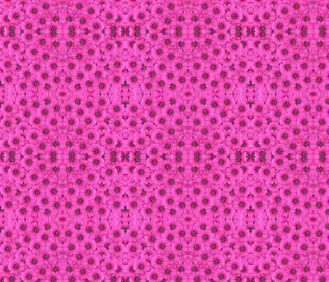 hot pink flowers fabric by krs_expressions on Spoonflower - custom fabric