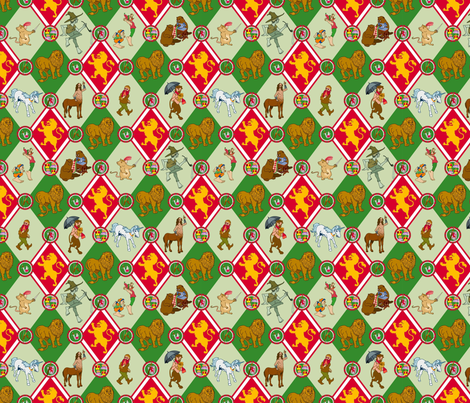 Narnia Motley fabric by pkfridley on Spoonflower - custom fabric